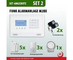 Funk Alarmanlage mit Touchpad Screen Set-2